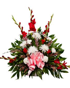 Basket Floral Arrangement 2 San Jose Funeral Home