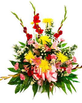 Basket Floral Arrangement 3 San Jose Funeral Home